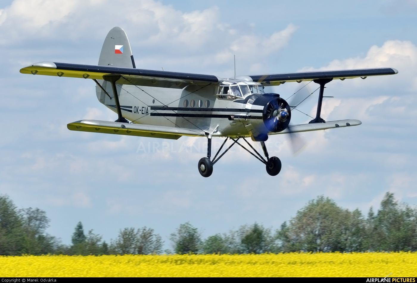 Agroair OK-EIA aircraft at Skuteč