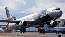 N587NK - Spirit Airlines Airbus A321 aircraft