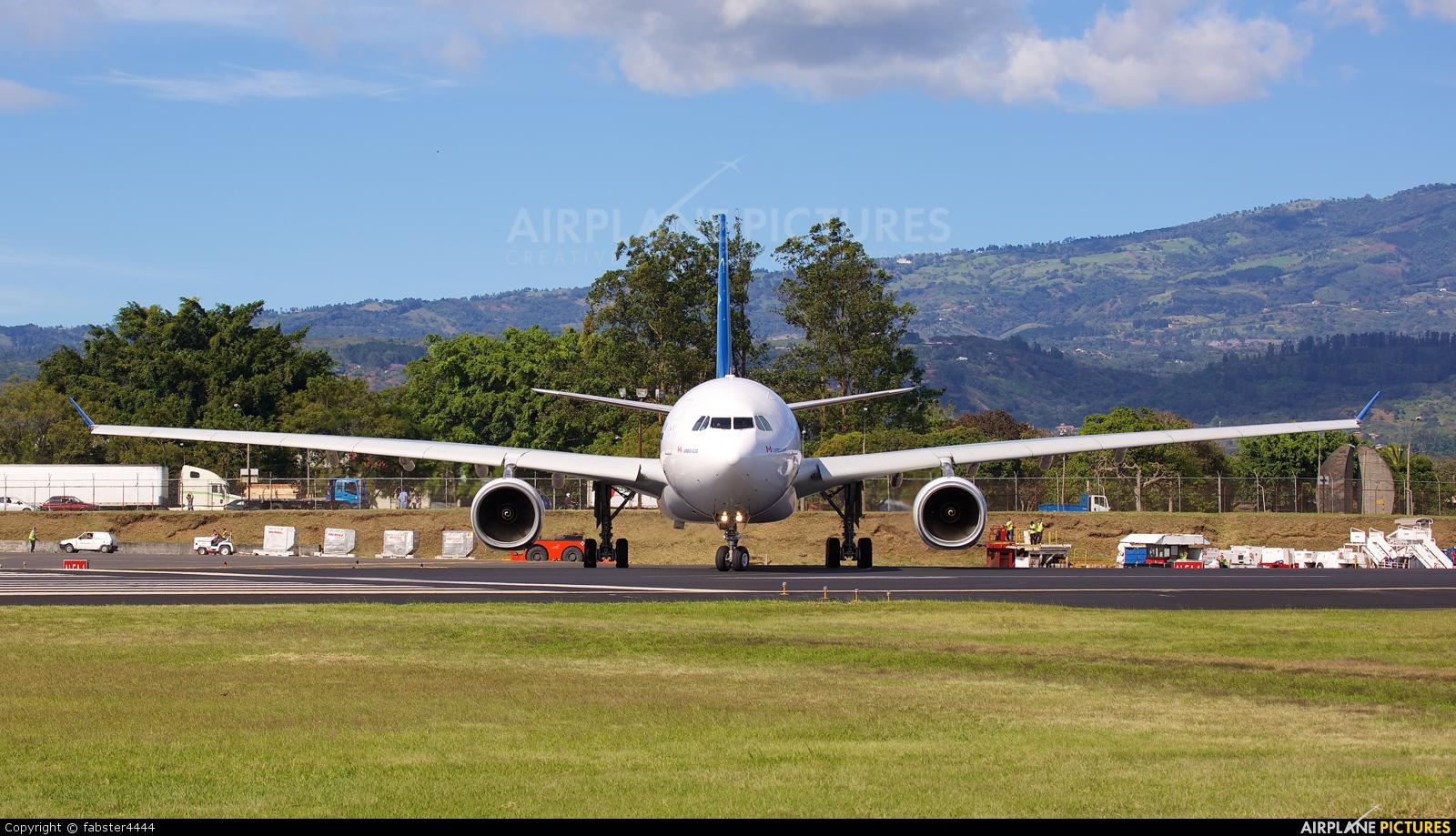 Air Transat C-GTSJ aircraft at San Jose - Juan Santamaría Intl