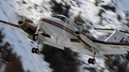 HB-GJI - Air Glaciers Beechcraft 200 King Air