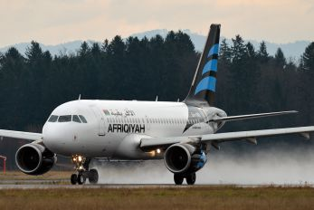 5A-OND - Afriqiyah Airways Airbus A319