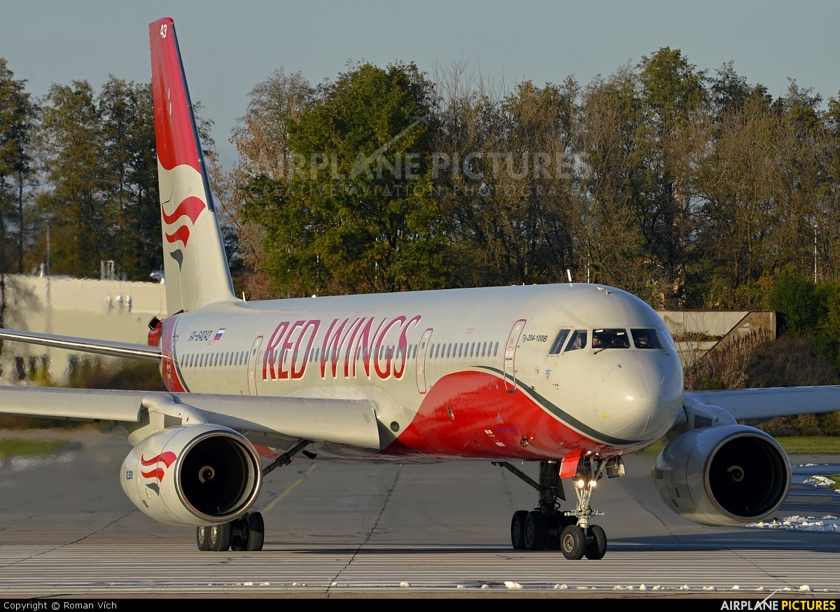 Red Wings RA-64043 aircraft at Pardubice