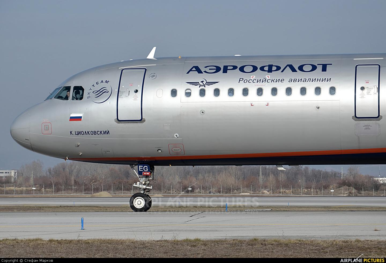 Aeroflot VQ-BEG aircraft at Sofia