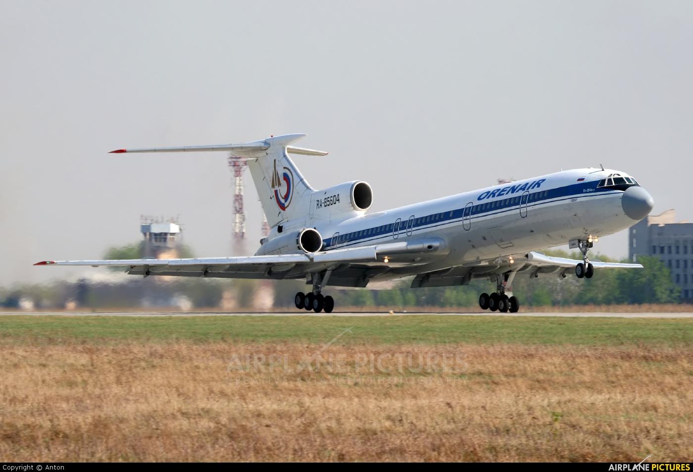 Orenair RA-85604 aircraft at Chelyabinsk