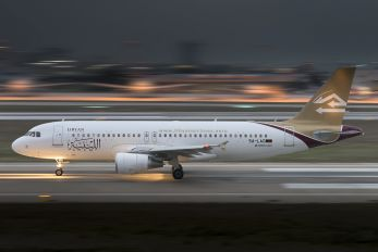5A-LAO - Libyan Airlines Airbus A320