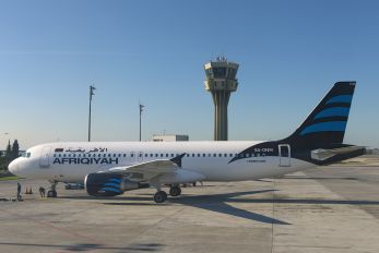 5A-ONM - Afriqiyah Airways Airbus A320