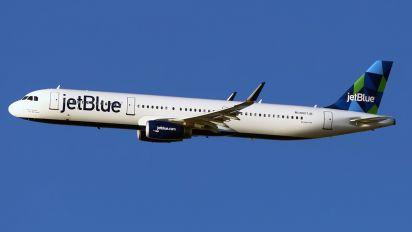 N907JB - JetBlue Airways Airbus A321