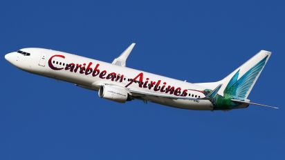 9Y-ANU - Caribbean Airlines  Boeing 737-800