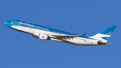LV-FNK - Aerolineas Argentinas Airbus A330-200