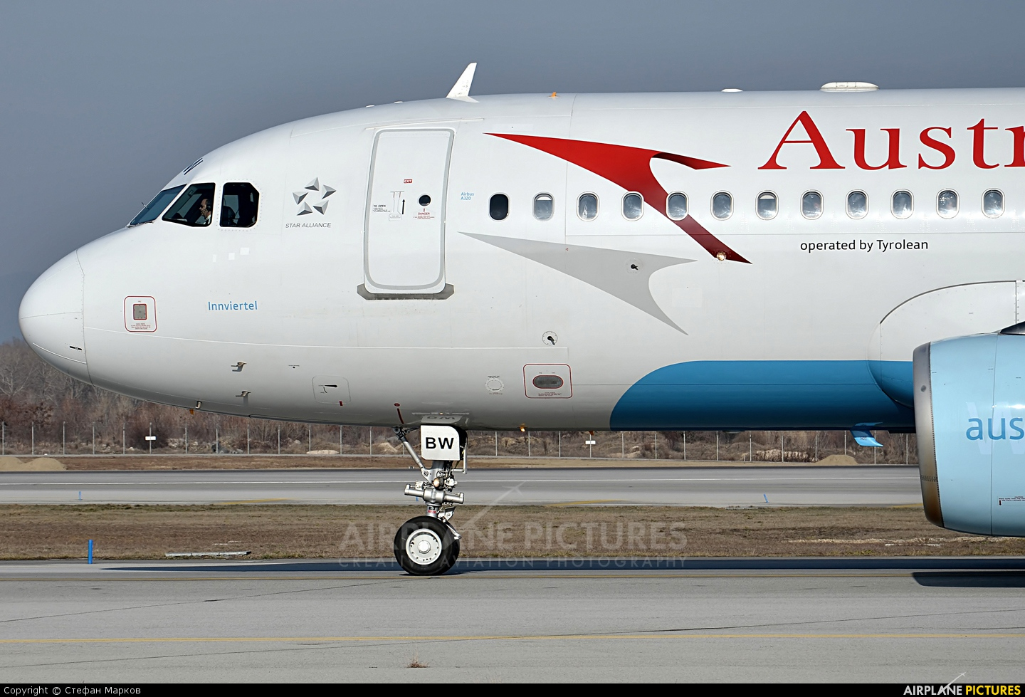 Austrian Airlines/Arrows/Tyrolean OE-LBW aircraft at Sofia