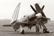 G-RNHF - Naval Aviation Hawker Sea Fury T.20 aircraft