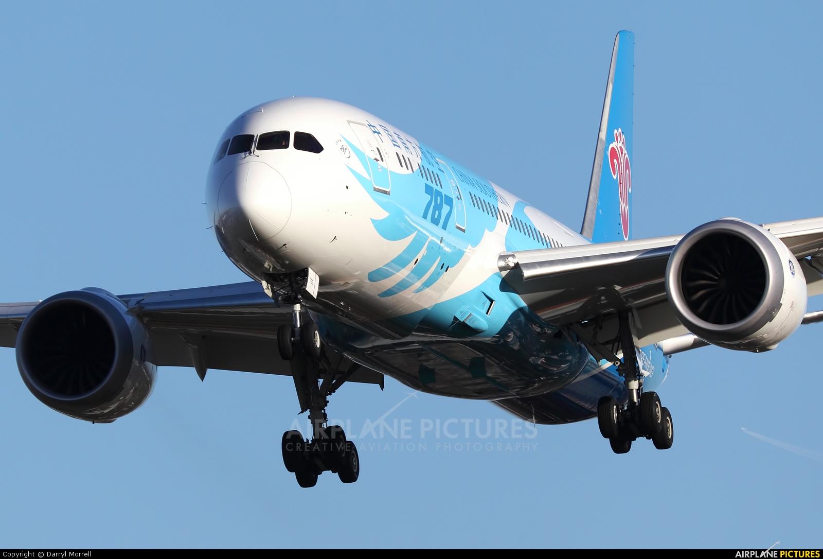 China Southern Airlines B-2732 aircraft at London - Heathrow