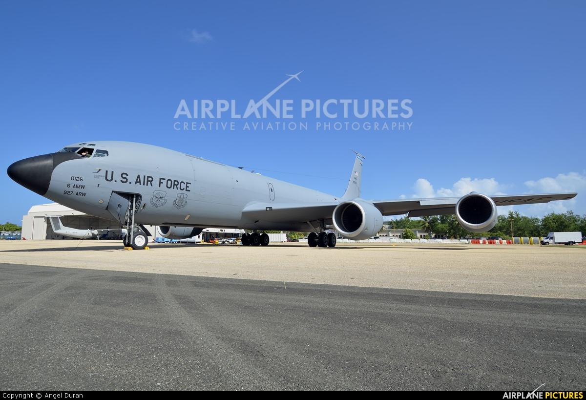 USA - Air Force 58-0125 aircraft at Aguadilla - Raphael Hernandez (Borinquen Field)
