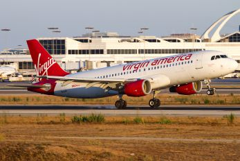 N624VA - Virgin America Airbus A320