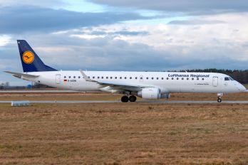 D-AEBN - Lufthansa Regional - CityLine Embraer ERJ-195 (190-200)