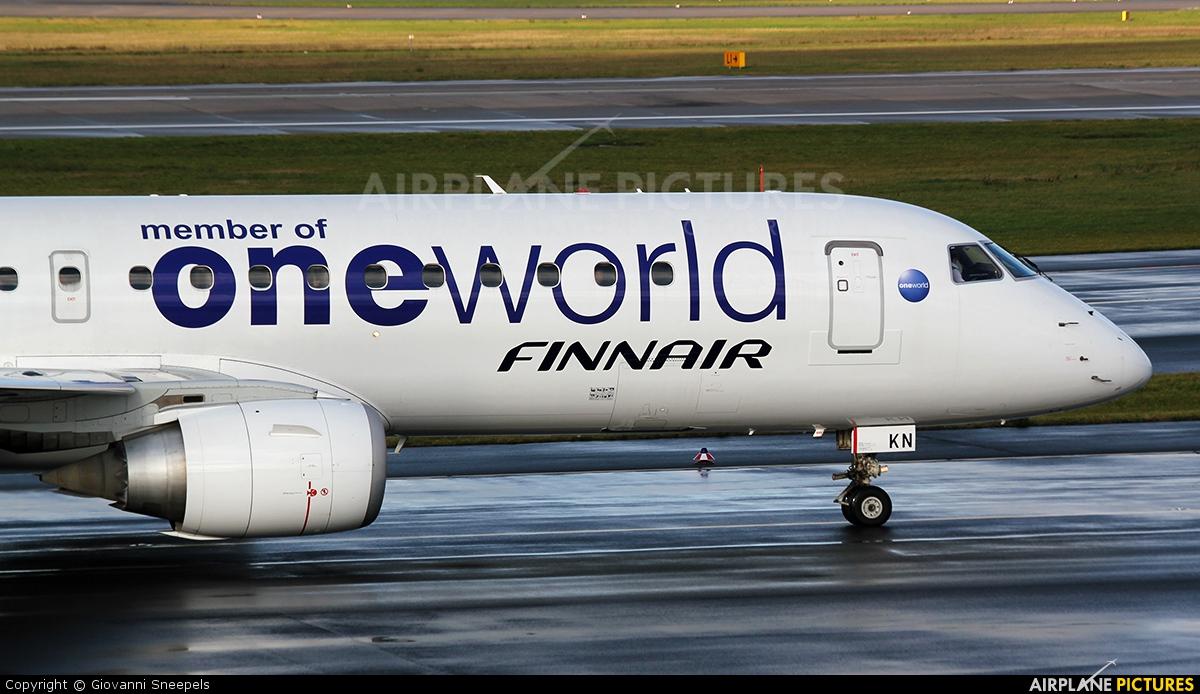 Finnair OH-LKN aircraft at Düsseldorf