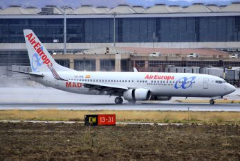 EC-ISN - Air Europa Boeing 737-800