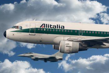 EI-IME - Alitalia Airbus A319
