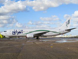 5A-MAB - Buraq Air Boeing 737-400