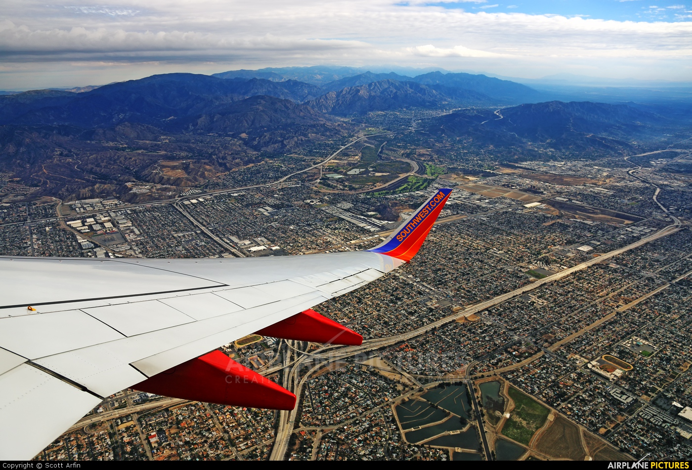 Southwest Airlines N402WN aircraft at In Flight - California
