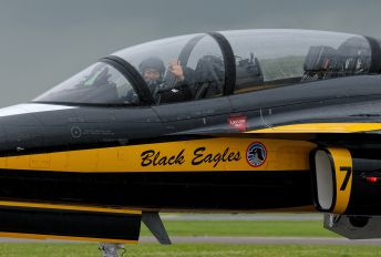 10-0053 - Korea (South) - Air Force: Black Eagles Korean Aerospace T-50 Golden Eagle