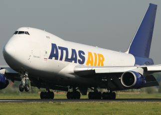 N476MC - Atlas Air Boeing 747-400F, ERF
