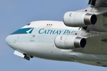 B-HUQ - Cathay Pacific Cargo Boeing 747-400F, ERF