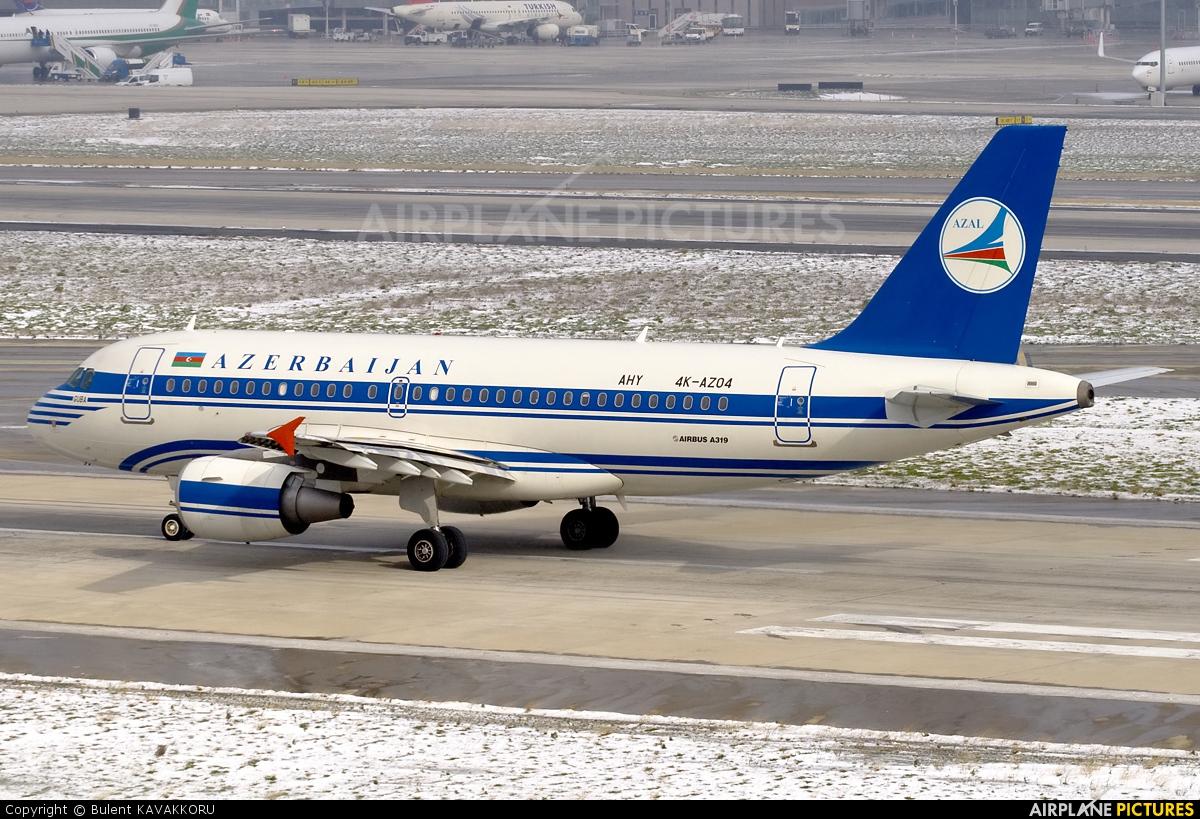 Azerbaijan Airlines 4K-AZ04 aircraft at Istanbul - Ataturk