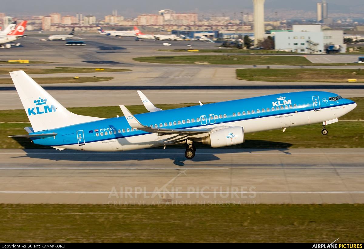 KLM PH-BXC aircraft at Istanbul - Ataturk