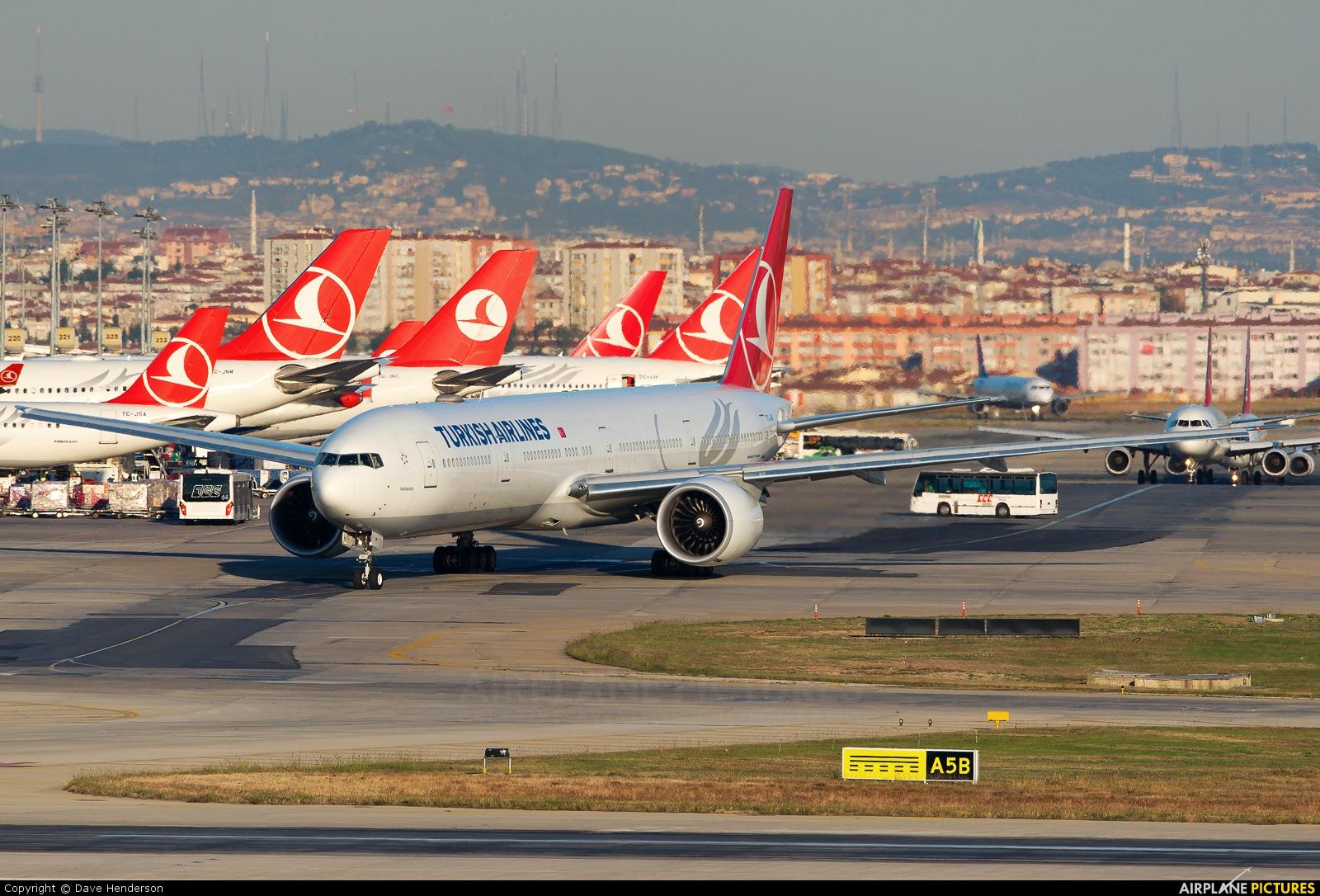 Turkish Airlines TC-JJM aircraft at Istanbul - Ataturk