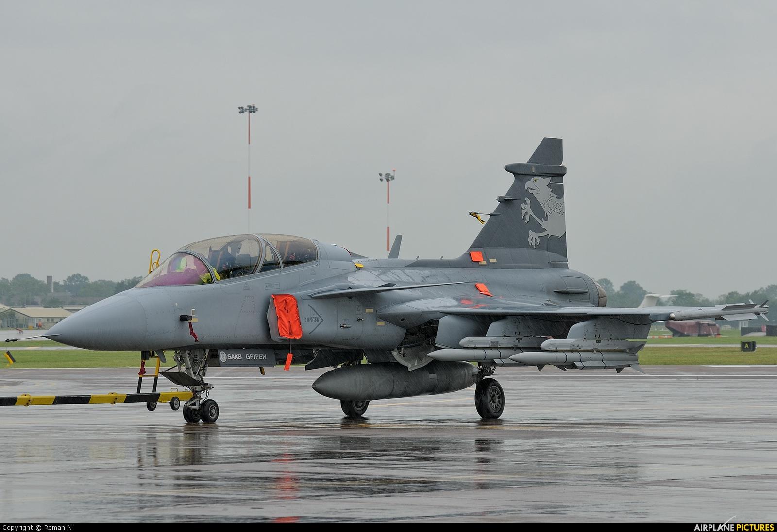 SAAB Aircraft Company 39-7 aircraft at Fairford