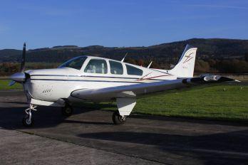 G-BTZA - Private Beechcraft 33 Debonair / Bonanza