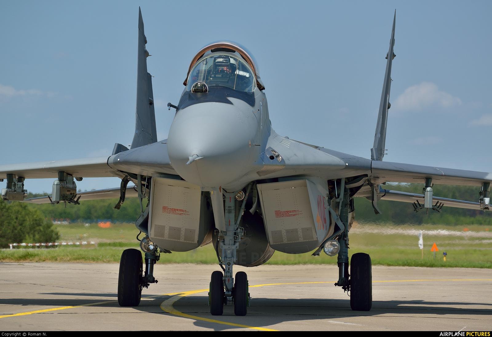 Poland - Air Force 4104 aircraft at Mirosławiec
