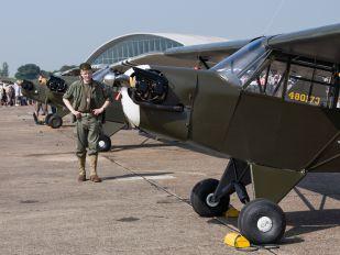 G-AXGP - Private Piper J3 Cub