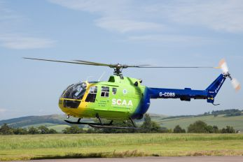 G-CDBS - SCAA - Scotlands Charity Air Ambulance MBB Bo-105DBS