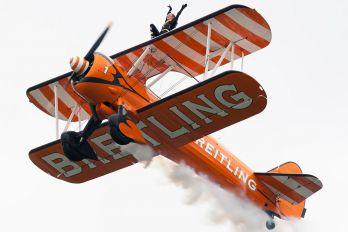 N5057V - Breitling Wingwalkers Boeing Stearman, Kaydet (all models)