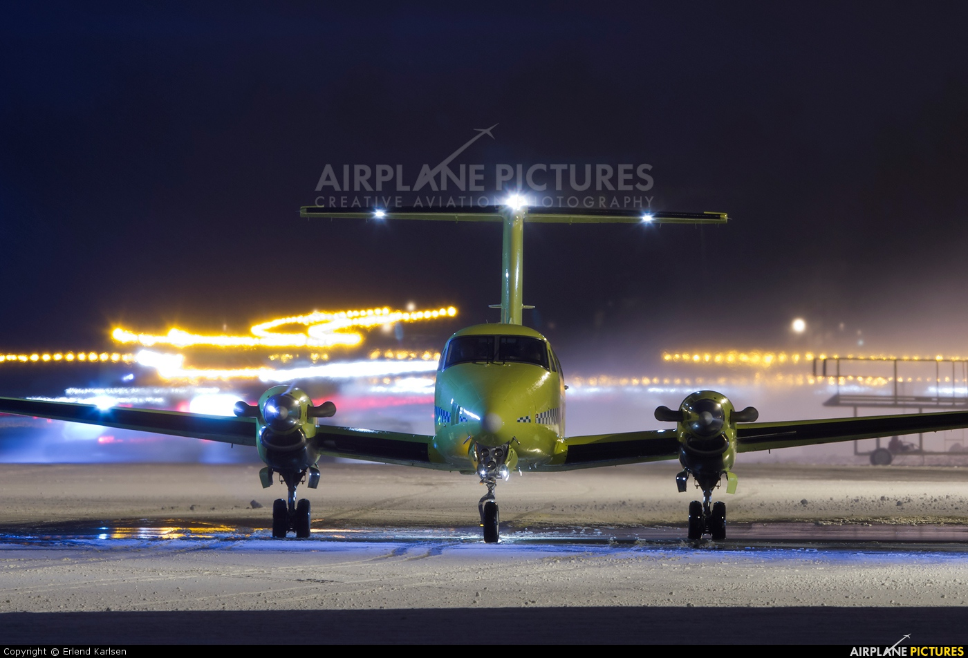 Lufttransport LN-LTD aircraft at Trondheim - Vaernes