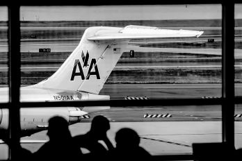 N501AA - American Airlines McDonnell Douglas MD-82