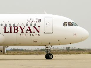 5A-LAP - Libyan Airlines Airbus A320