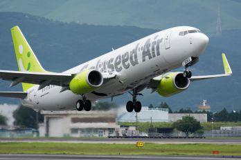 JA806X - Solaseed Air - Skynet Asia Airways Boeing 737-800