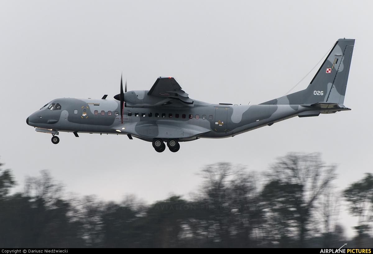 Poland - Air Force 026 aircraft at Lublin