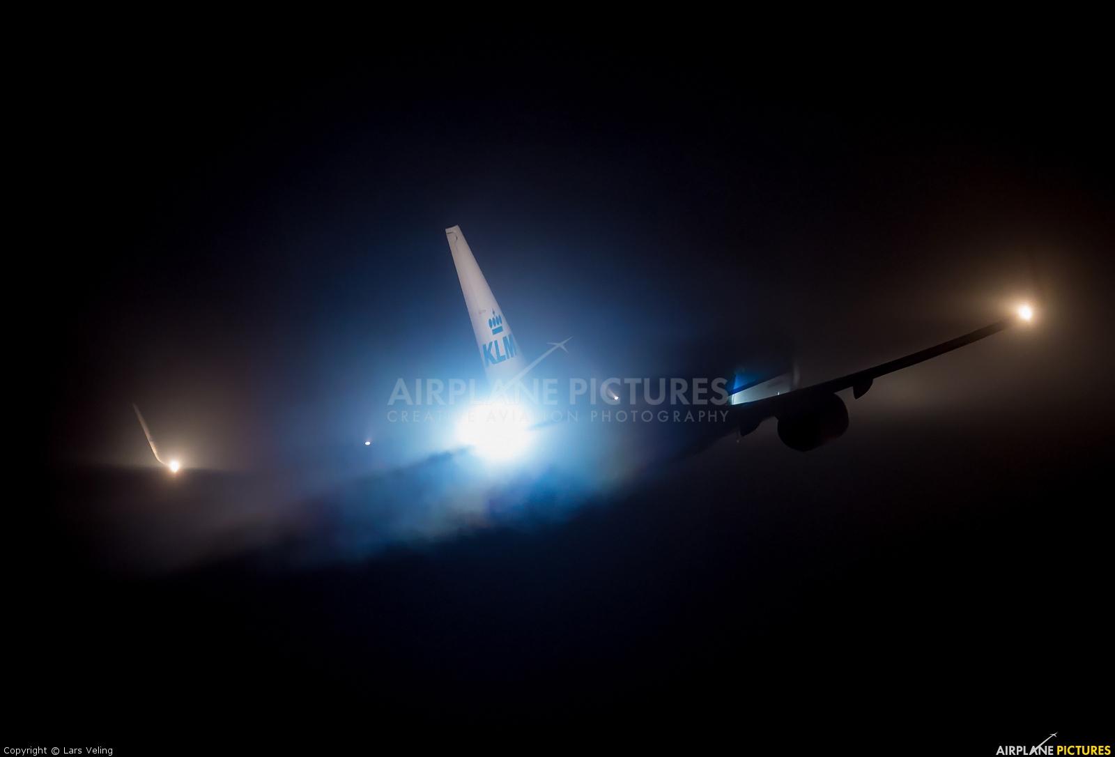 KLM PH-BXI aircraft at Amsterdam - Schiphol