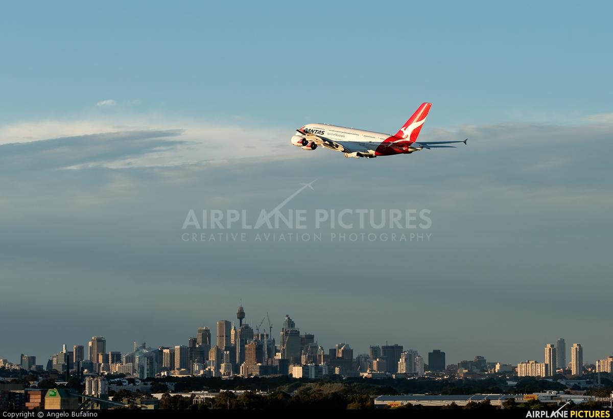 QANTAS VH-OQF aircraft at Sydney - Kingsford Smith Intl, NSW