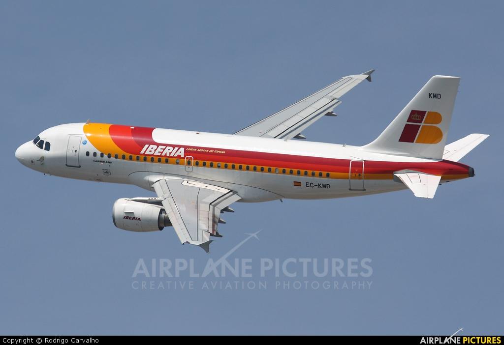 Iberia EC-KMD aircraft at Barcelona - El Prat