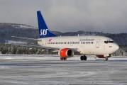 LN-BRX - SAS - Scandinavian Airlines Boeing 737-500 aircraft