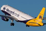 G-OZBF - Monarch Airlines Airbus A321 aircraft