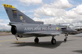 FAC3054 - Colombia - Air Force Israel IAI Kfir C2
