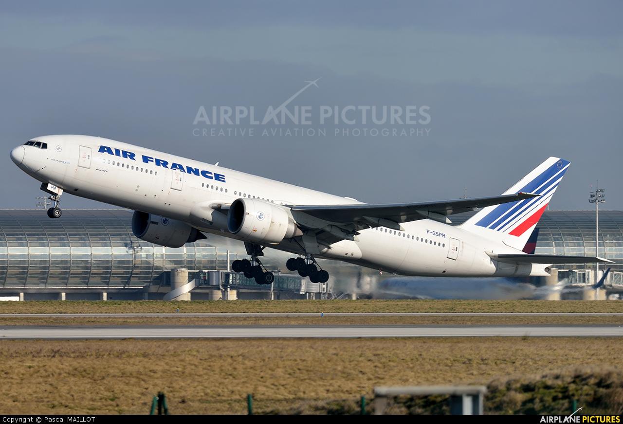 Air France F-GSPR aircraft at Paris - Charles de Gaulle