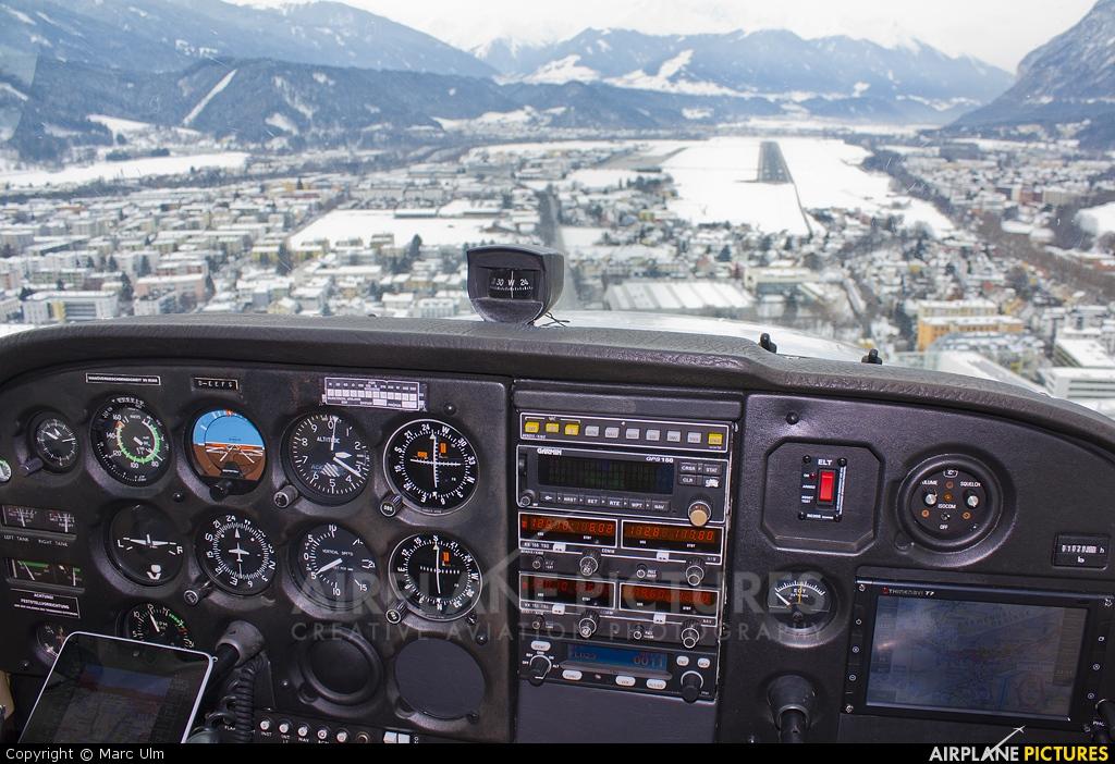 Private D-EEFS aircraft at Innsbruck
