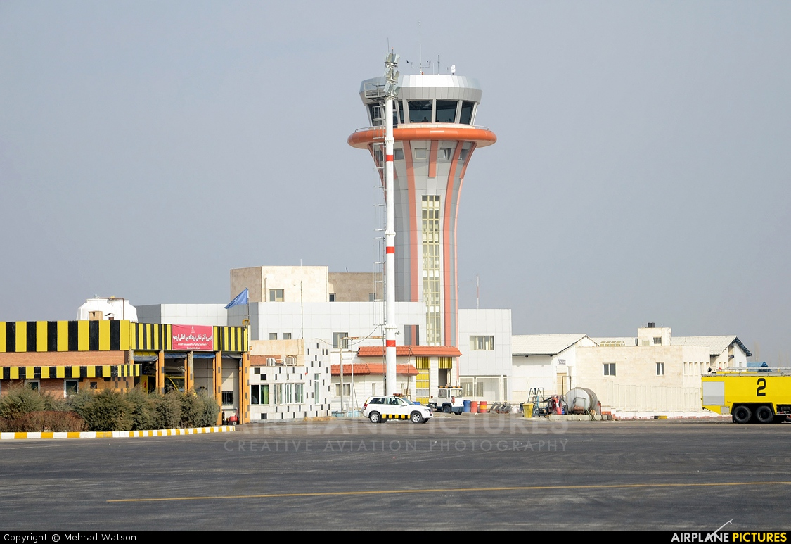 - Airport Overview - aircraft at Urmia